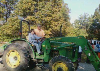 t_Brett on tractor
